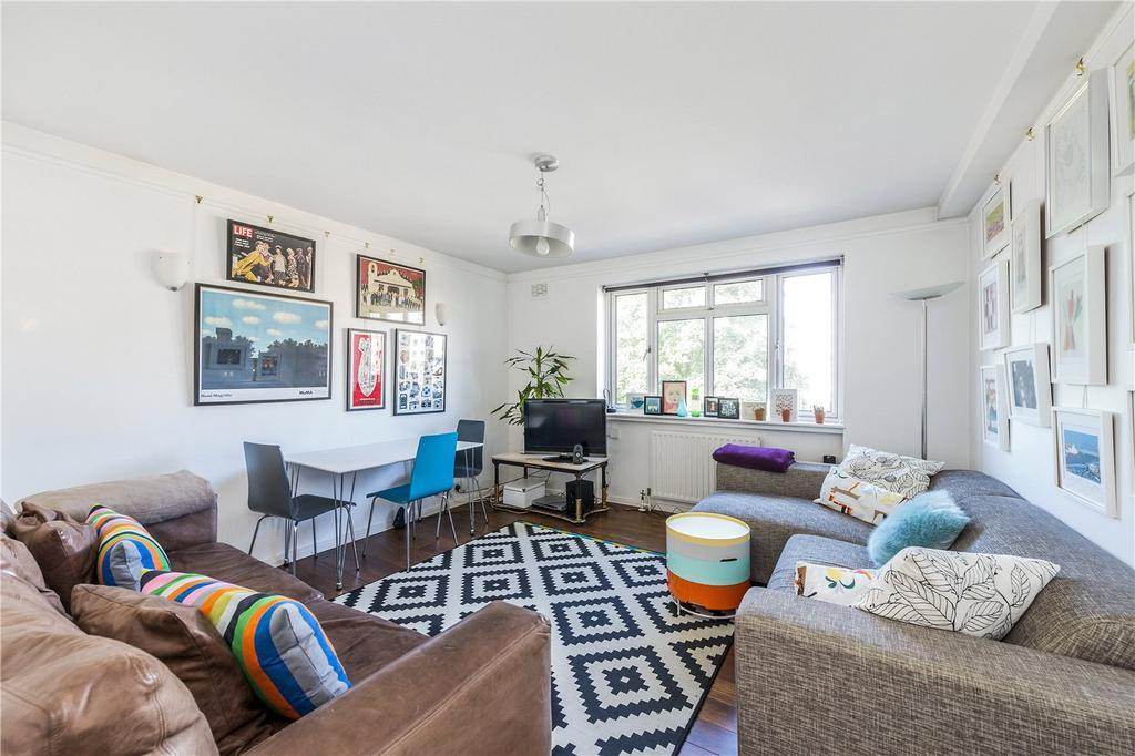2 Bedrooms Flat for sale in Crownstone Court, Crownstone Road, London, SW2