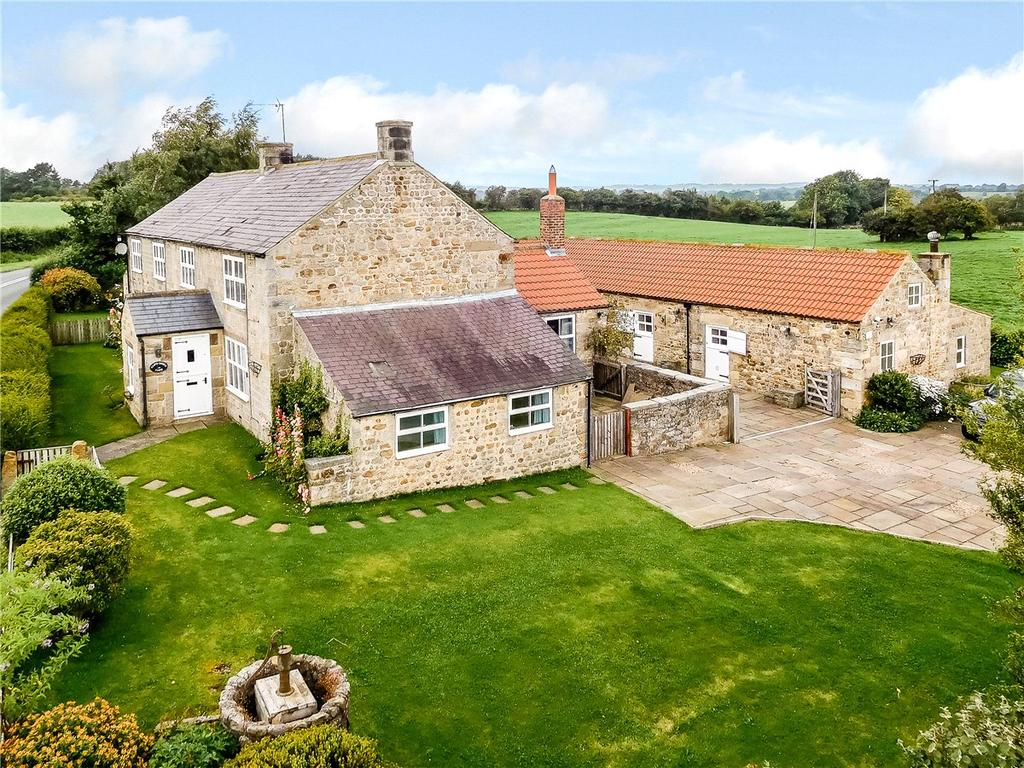 5 Bedrooms Detached House for sale in Clip'd Thorn Farm, Aldfield, Near Ripon, North Yorkshire, HG4
