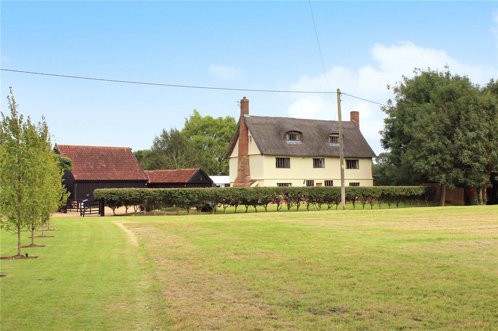 5 Bedrooms Detached House for sale in Wilby, Nr Framlingham, Suffolk, IP21