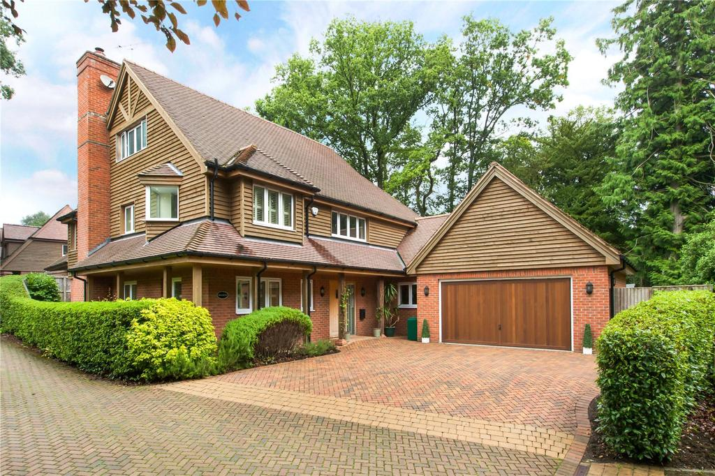 4 Bedrooms Detached House for sale in Laurel Bank, Burghclere, Newbury, Berkshire, RG20