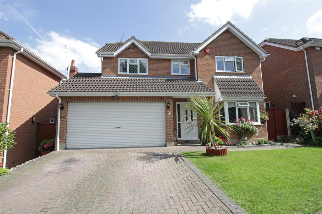 4 Bedrooms Detached House for sale in The Waterfalls, Langdon Hills, Essex, SS16