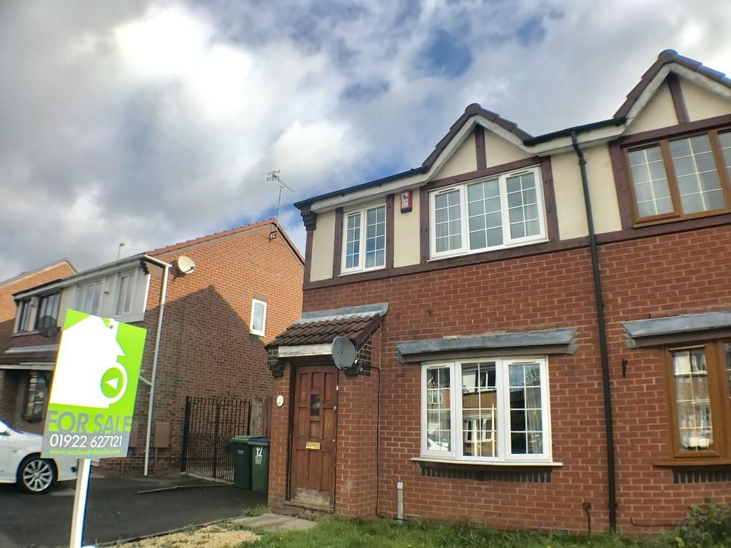 3 Bedrooms Semi Detached House for sale in Pennyroyal Close, Walsall