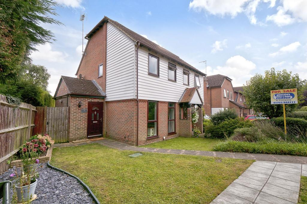 2 Bedrooms Semi Detached House for sale in Hillside Court, Wateringbury, Maidstone