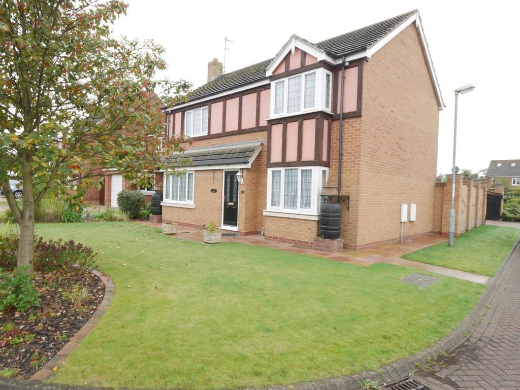 4 Bedrooms Detached House for sale in Hazel Crescent, Gilberdyke