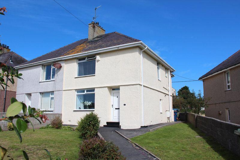 3 Bedrooms Semi Detached House for sale in Maes Y Mynydd, Holyhead