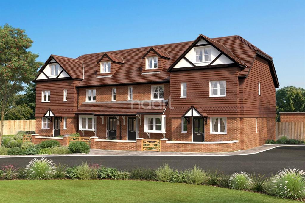 3 Bedrooms Terraced House for sale in Horsham Road, South Holmwood, Dorking