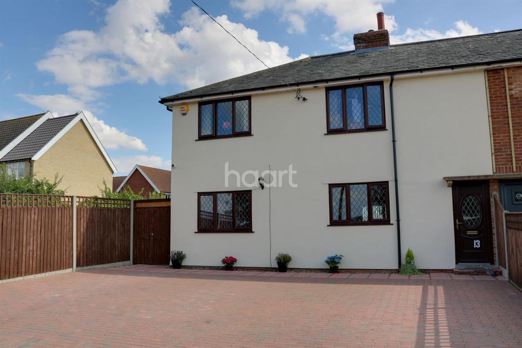 3 Bedrooms Semi Detached House for sale in Ashfield Road, Norton