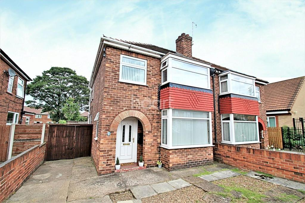 3 Bedrooms Semi Detached House for sale in Ardeen Road, Intake, Doncaster