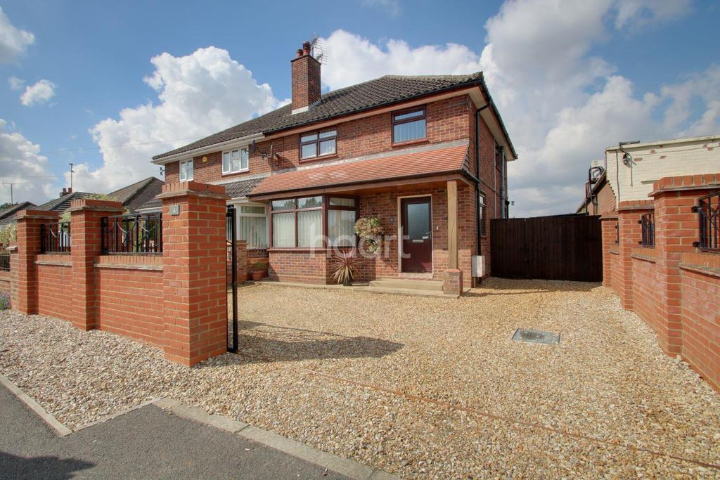 3 Bedrooms Semi Detached House for sale in Quaker Lane, Wisbech