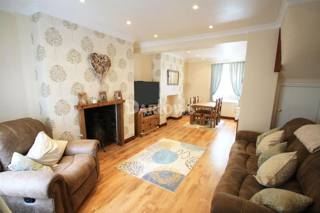2 Bedrooms Terraced House for sale in Railway Terrace, West Side, Blaina, Gwent