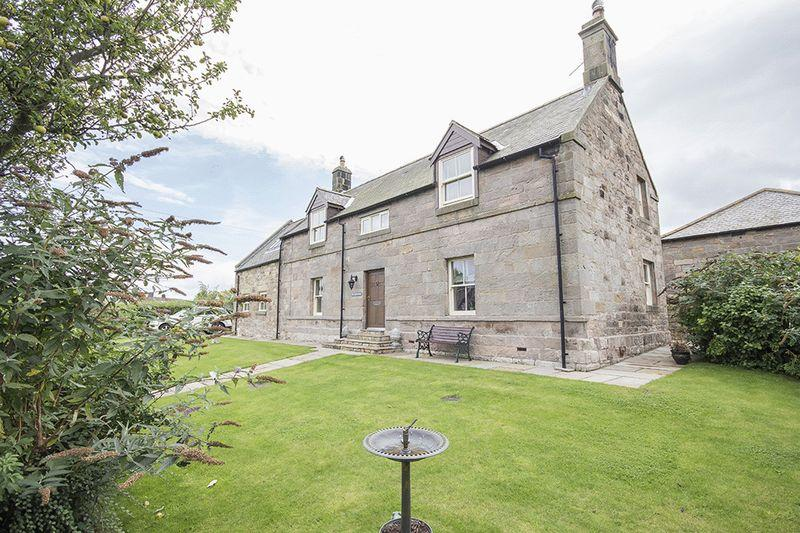 4 Bedrooms Detached House for sale in Mill Hill Farm, Chatton, Alnwick