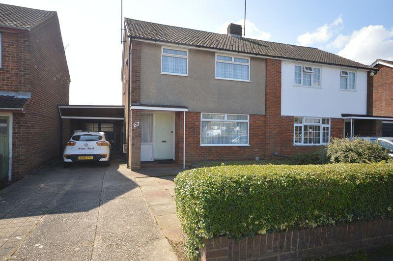 3 Bedrooms Semi Detached House for sale in Calverton Road, Luton