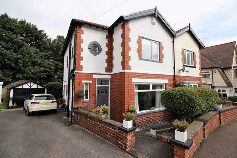 3 Bedrooms Semi Detached House for sale in The Gardens, Halifax