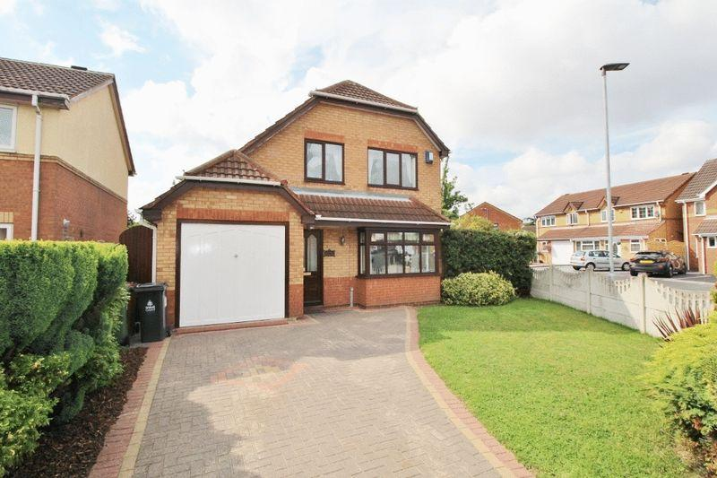 3 Bedrooms Detached House for sale in Honeybourne Way, Kingfisher Estate, Willenhall