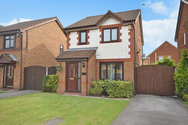 3 Bedrooms Detached House for sale in Arkenstone Close, Widnes