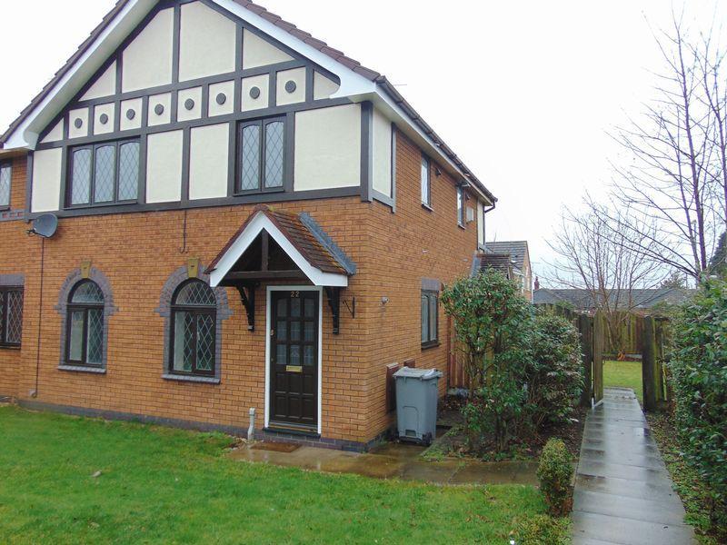 2 Bedrooms Semi Detached House For Rent In Osborne Close Sandbach