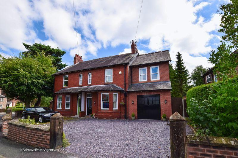 5 Bedrooms Semi Detached House for sale in Oughtrington Crescent, Lymm
