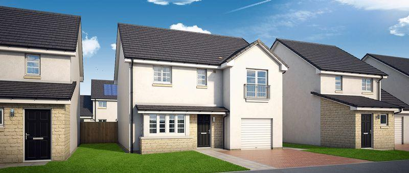 4 Bedrooms Detached Villa House for sale in Plot 28 Hillier Road, Kilmarnock KA1 1SU