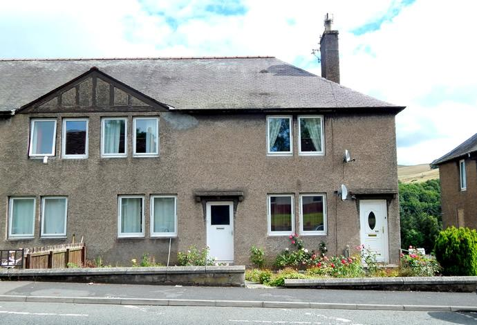 2 Bedrooms Flat for sale in 140 Wood Street, Galashiels, TD1 1QY