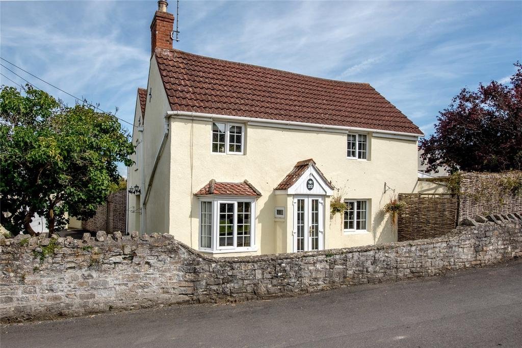 4 Bedrooms Detached House for sale in Manor Road, Catcott, Bridgwater, Somerset