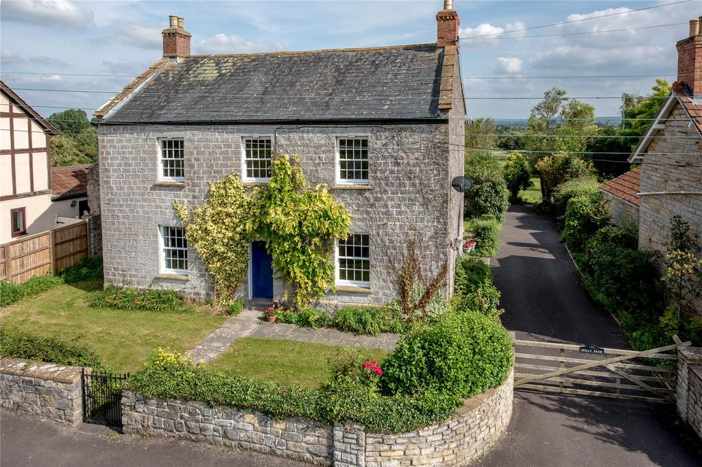 5 Bedrooms Detached House for sale in Wiltown, Curry Rivel, Langport, Somerset