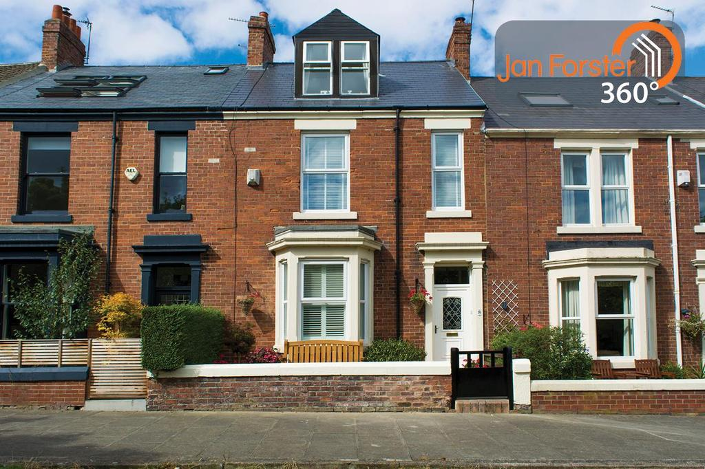 4 Bedrooms Terraced House for sale in Horsley Terrace, Tynemouth