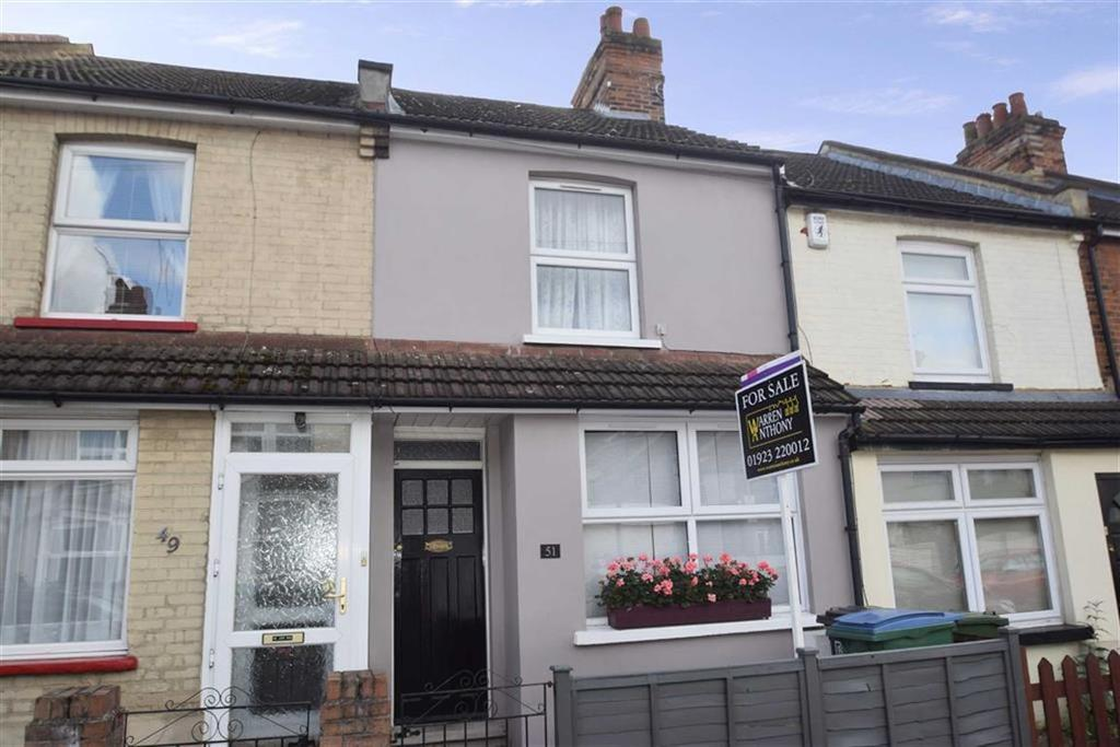 2 Bedrooms Terraced House for sale in Cardiff Road, Watford, Herts