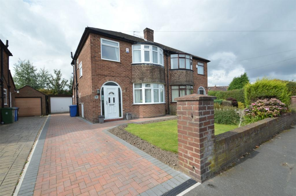 3 Bedrooms Semi Detached House for sale in Okehampton Crescent, SALE, Cheshire