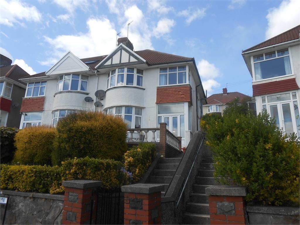 3 Bedrooms Semi Detached House for sale in Lon Cwm Gwyn, Sketty, Swansea, SA2 0TY