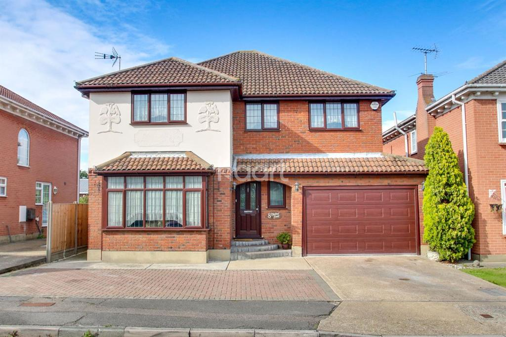 4 Bedrooms Detached House for sale in Chestnut Grove, South Benfleet