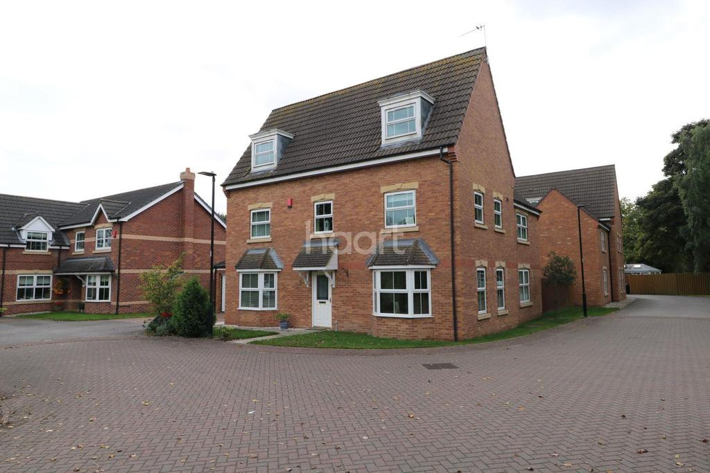 5 Bedrooms Detached House for sale in Hayfield Court, Auckley, Doncaster
