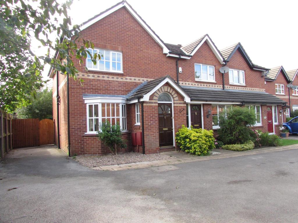 3 Bedrooms End Of Terrace House for sale in Petworth Close, Manchester, M22