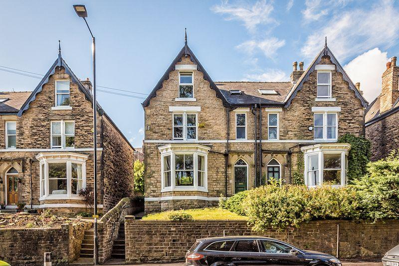 5 Bedrooms Semi-detached Villa House for sale in Rustlings Road, Endcliffe Park, Sheffield