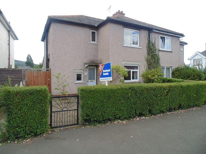3 Bedrooms Semi Detached House for sale in Park Crescent, Abergavenny