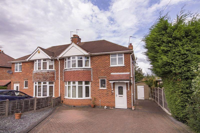 3 Bedrooms Semi Detached House for sale in ELMS AVENUE, LITTLEOVER.
