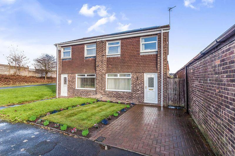 3 Bedrooms Semi Detached House for sale in Bamborough Court, Cramlington
