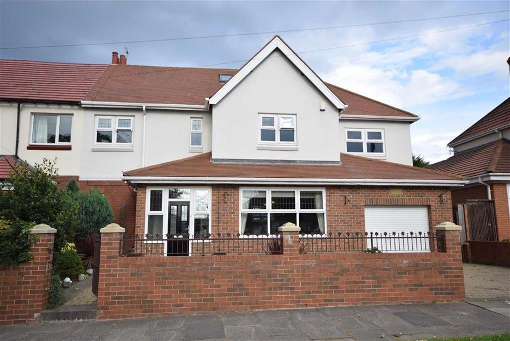 5 Bedrooms Semi Detached House for sale in King George Road, South Shields