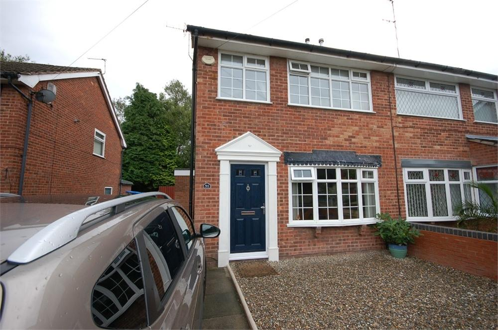 3 Bedrooms Semi Detached House for sale in Cambourne Avenue, Laffak, St Helens, Merseyside