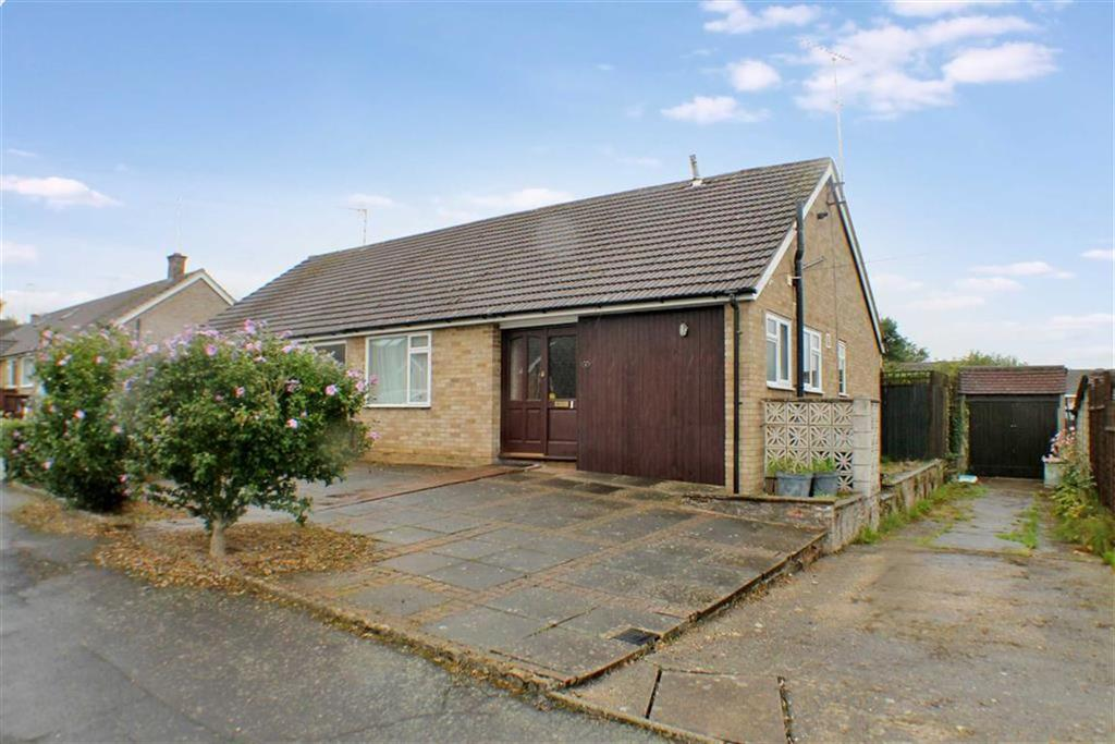 3 Bedrooms Semi Detached Bungalow for sale in Hawthorn Close, Harpenden, Hertfordshire, AL5