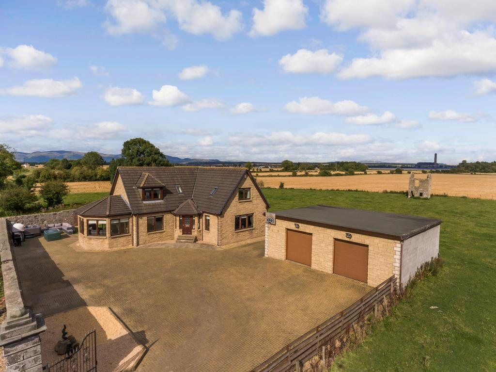 4 Bedrooms Country House Character Property for sale in Bothkennar, By Falkirk FK2