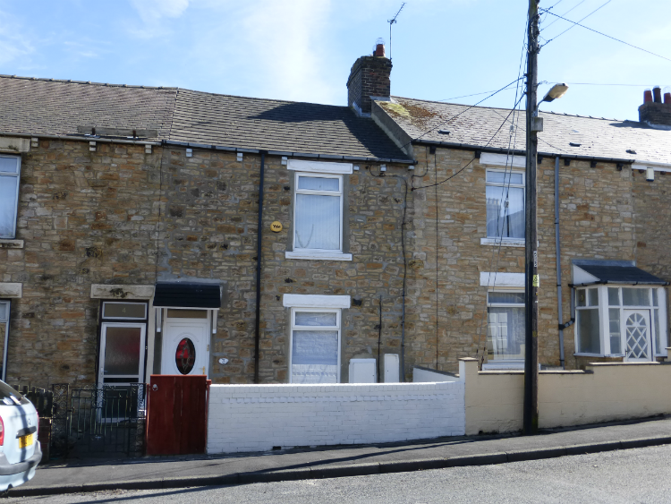 2 Bedrooms Terraced House for sale in 3 Clowes Terrace Annfield Plain, Stanley DH9