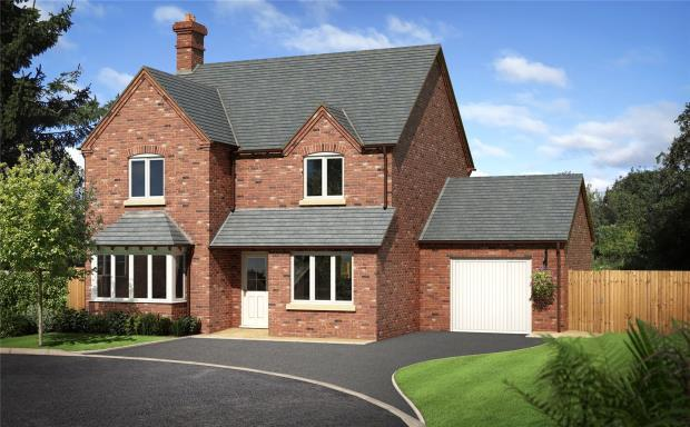 4 Bedrooms Detached House for sale in Tedsmore Grange Plot 29, Felton Park, West Felton, Oswestry