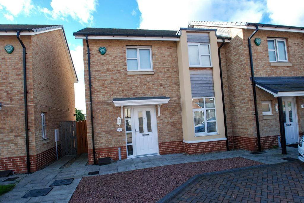 3 Bedrooms Semi Detached House for sale in Orchid Gardens, South Shields