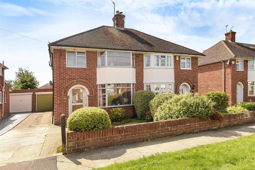 3 Bedrooms Semi Detached House for sale in Elms Drive, Marston, Oxford
