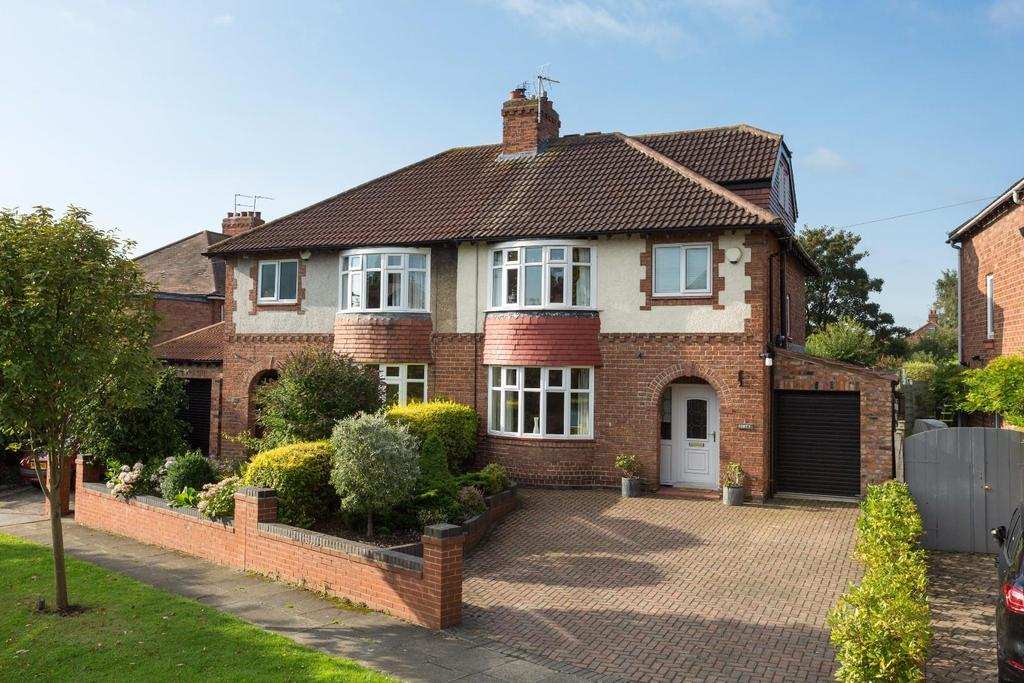 4 Bedrooms Semi Detached House for sale in Heworth Hall Drive, York