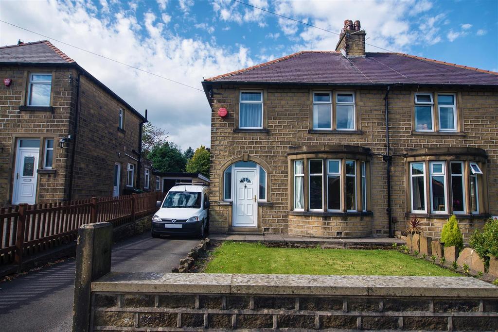 3 Bedrooms Semi Detached House for sale in Foster Avenue, Crosland Moor, Huddersfield, HD4 5LN
