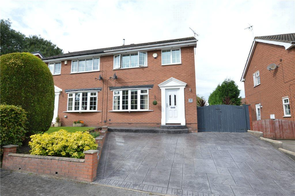 3 Bedrooms Semi Detached House for sale in Janesway, Kippax, Leeds, West Yorkshire