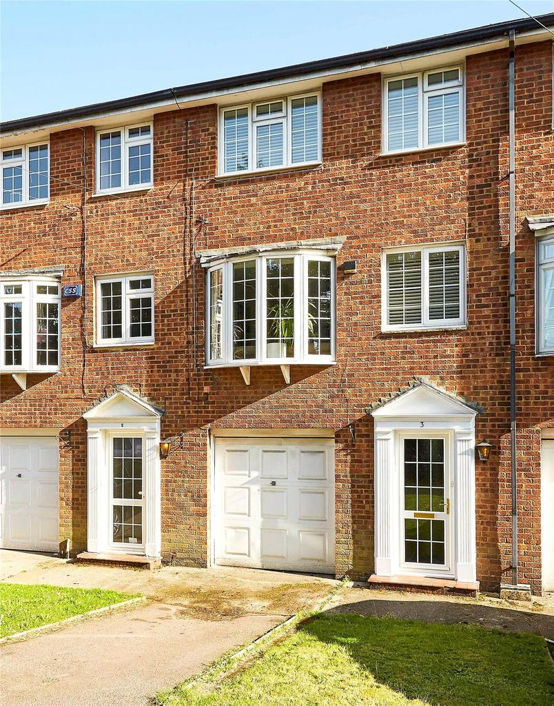 4 Bedrooms Terraced House for sale in Bradbourne Court, Bradbourne Vale Road, Sevenoaks, Kent, TN13