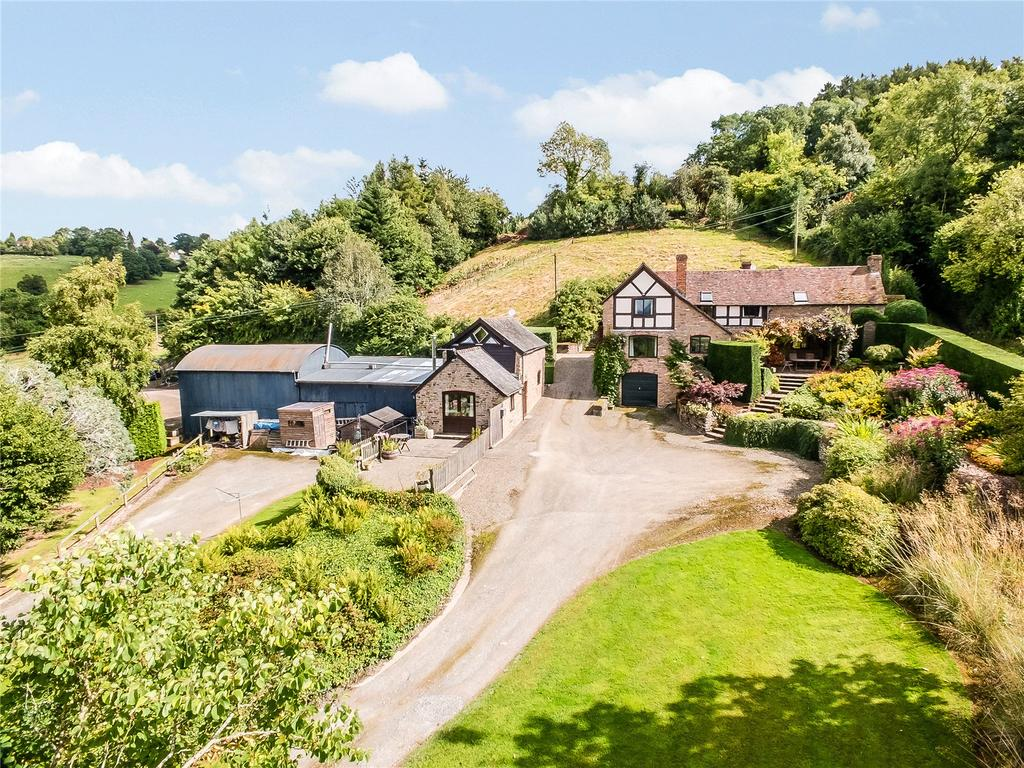 4 Bedrooms Detached House for sale in Titterhill, Haytons Bent, Ludlow, Shropshire