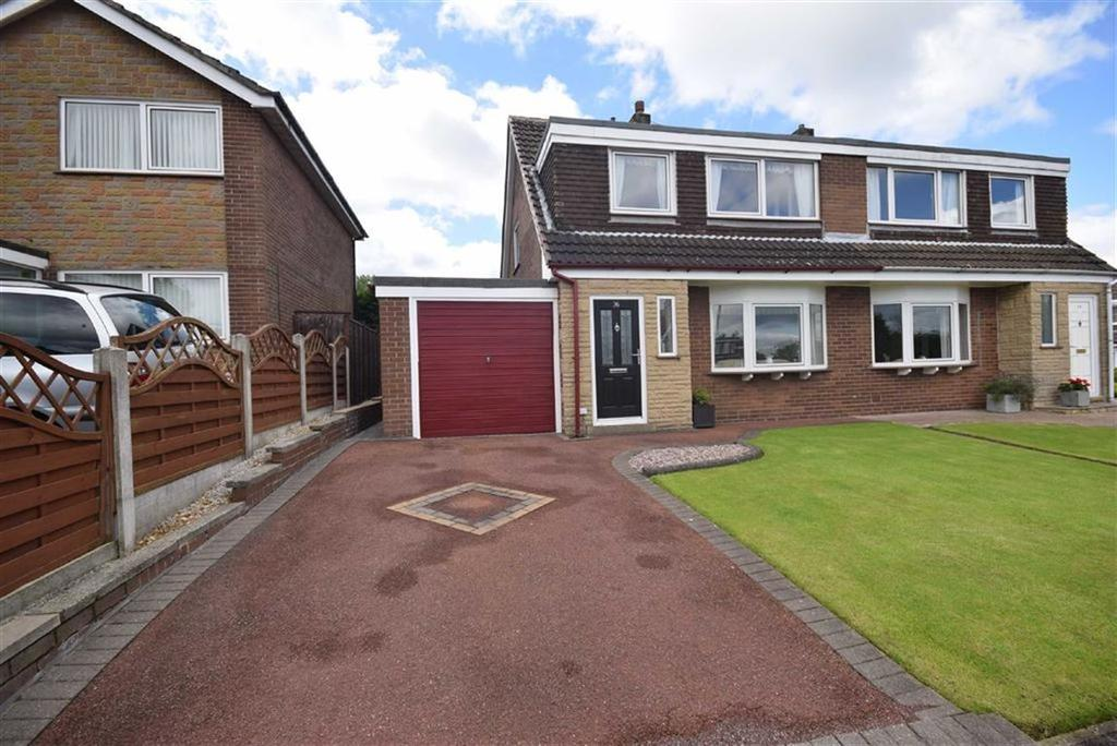 3 Bedrooms Semi Detached House for sale in Lowthwaite Drive, Nelson, Lancashire